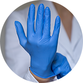 Allergic to latex gloves? We have the answer by Regaldisposables.co.uk